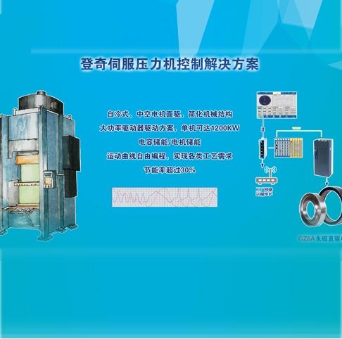 登奇GZ6A系列伺服压力机应用方案